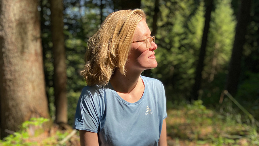 Waldbaden-Expertin Katharina Nathe