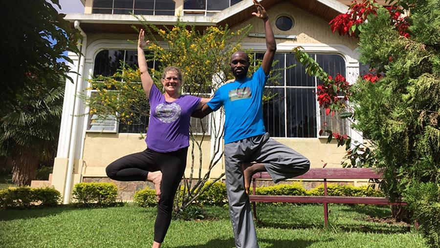 Yoga in Ruanda