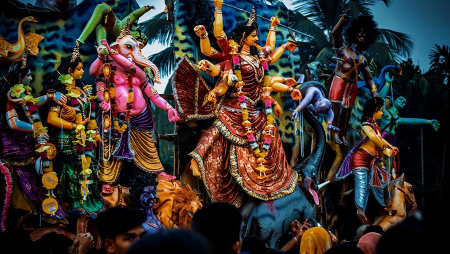 Yogische Rituale: Puja