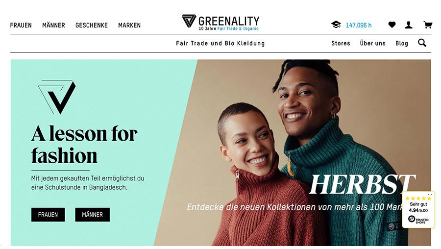 nachhaltig, bio, fashion, mode, greenality
