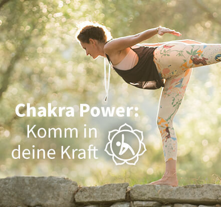 Yoga-Programm Chakra Power: Komm in deine Kraft