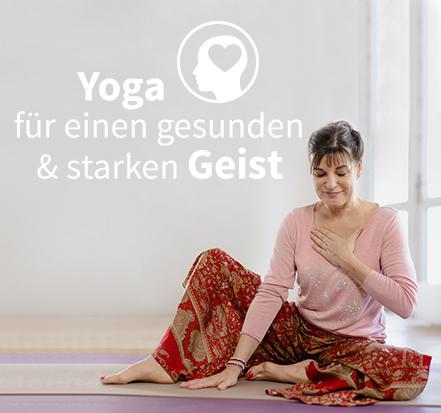 Yoga-Programm Yoga für einen gesunden und starken Geist