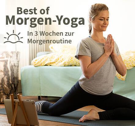 Yoga-Programm Best of Morgen-Yoga: In 3 Wochen zur Morgenroutine