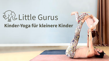 Yoga-Programm Little Gurus: Kinder-Yoga für kleinere Kinder
