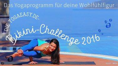 Yoga-Programm Bikini Challenge – mit Wohlfühl-Rezepten