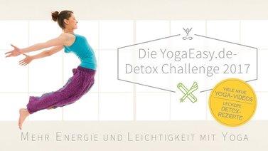 Yoga-Programm Detox Challenge mit yogischen Rezepten