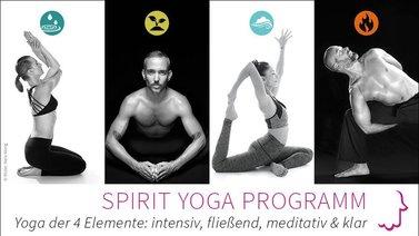 Yoga-Programm Spirit-Yoga-Programm: Yoga der 4 Elemente