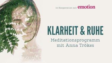 Yoga-Programm Meditations-Programm Klarheit & Ruhe
