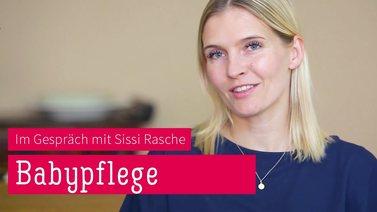 Yoga Video Mamasté: Sissi Rasche über Babypflege