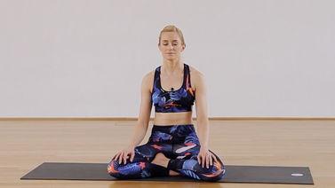 Yoga Video Wärmende Meditation für mehr Wohlgefühl