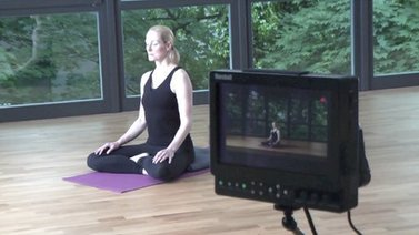 Yoga Video YogaEasy dreht! - Making Of