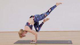 Yoga Video Tutorial: Asana - Einbeinige Krähe