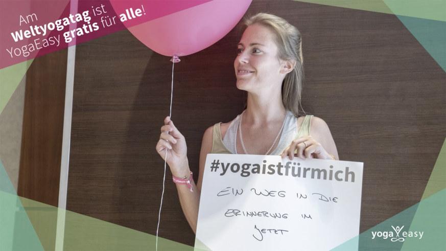 Yoga Video Weltyogatag 2018: #yogaistfürmich