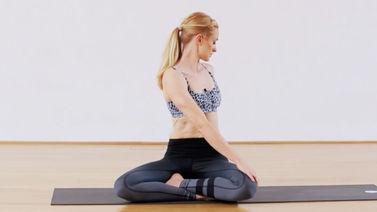 Yoga Video Rücken-Yoga: Bewegliche Wirbelsäule, entspannte Muskulatur