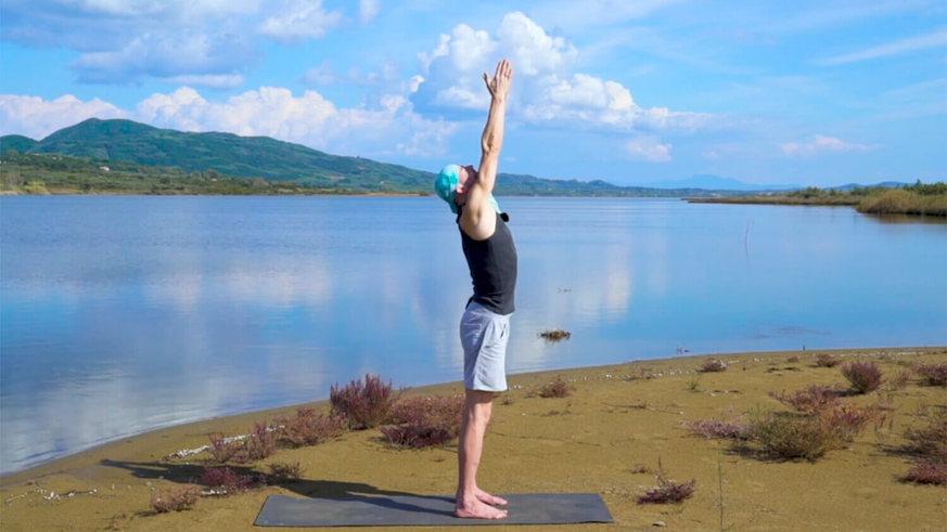 Yoga Video Sonnengrüße A & B (Basic-Form) im Ashtanga Yoga