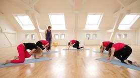 Yoga Video Der große Anfängerkurs mit Anna Trökes - Zu sich kommen (Teil 1 von 10)