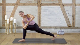 Yoga Video Eine hüftöffnende Sequenz: Kern des Seins