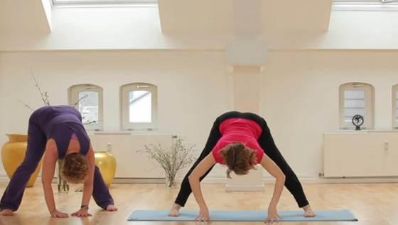 Yoga Video Der große Anfängerkurs mit Anna Trökes - Den Atem vertiefen (Teil 3 von 10)