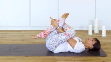 Yoga Video Aktivierung der Mondenergie für einen erholsamen Schlaf