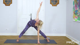 Yoga Video Entspanne am Abend mit Vorbeugen