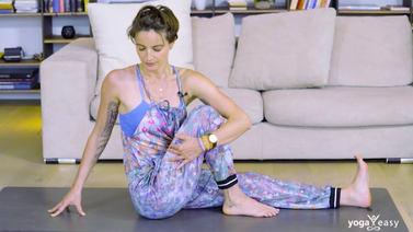 Yoga Video Bedtime Yoga mit Fokus auf der Ausatmung