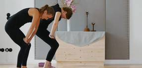 Yoga für Bauch, Beine, Po