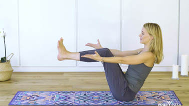 Yoga Video Tutorial: Das Boot – Navasana