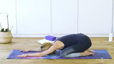 Yoga Video Tutorial: Haltung des Kindes – Balasana