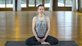 Yoga Video Achtsamkeits-Meditation mit dem Fokus Loslassen