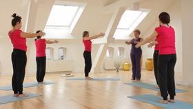 Yoga Video Der große Anfängerkurs mit Anna Trökes - Die Schultern kräftigen (Teil 8 von 10)