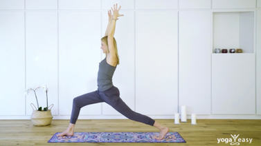 Yoga Video Tutorial: Asana – Krieger I (Virabhadrasana I)
