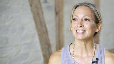 Yoga Video Interview mit Sandra über den Umgang mit Mustern