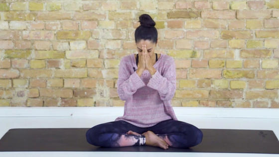 Yoga Video Meditation für innere Stille