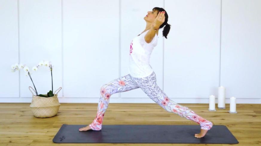 Yoga Video Yoga für gute Stimmung