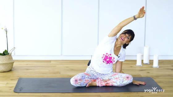 Yoga Video Yoga für positive Gedanken