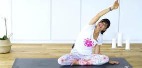 Yoga für positive Gedanken