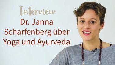 Yoga Video Interview mit Dr. Janna Scharfenberg über Yoga & Ayurveda