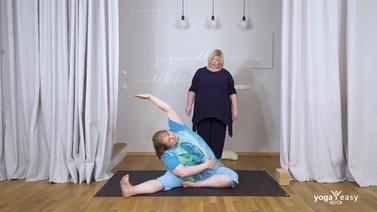 Yoga Video Yoga X-Large: Basic-Yoga für Anfänger – Dehnbewegungen