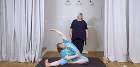 Yoga X-Large: Basic-Yoga für Anfänger – Dehnbewegungen