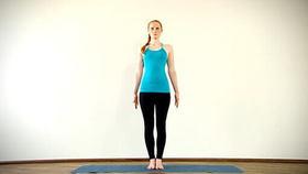 Yoga Video Clip: Tadasana (Berghaltung)