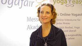 Yoga Video yogafair 2013: Interview mit Miriam Wessels