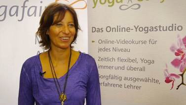 Yoga Video yogafair 2013: Interview mit Maya Fiennes
