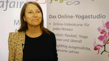 Yoga Video yogafair 2013: Interview mit Marina Pagel