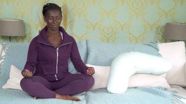Yoga Video Atemübung Samavritti Pranayama nach der Geburt