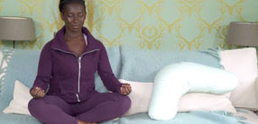 Atemübung Samavritti Pranayama nach der Geburt