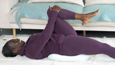 Yoga Video Tutorial: Übungen zur Beckenbodenentlastung und Hüftdehnung