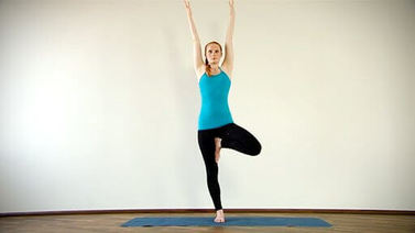 Yoga Video Clip: Vrikshasana (der Baum)
