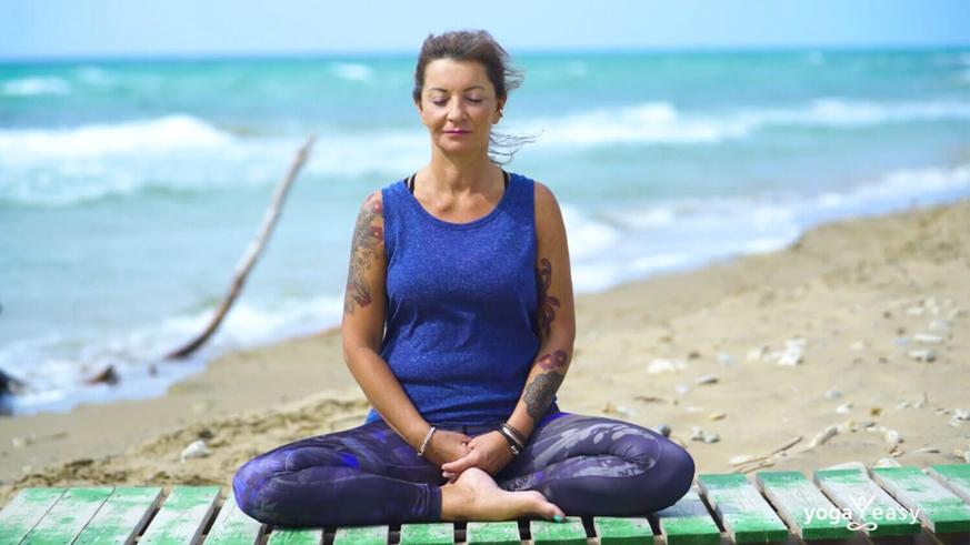 Yoga Video Tantrische Meditation: Atmen mit dem Universum