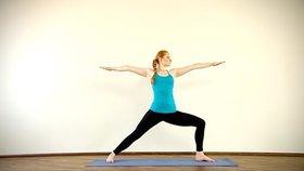 Yoga Video Clip: Virabhadrasana II (Bogenschütze)
