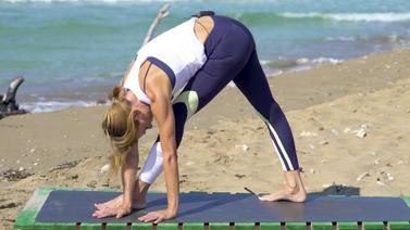 geschmeidig morgen yoga vinyasa